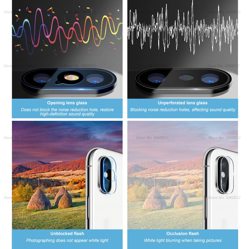 Ultra Thin Back Protective Camera Lens For iPhone XS XSMAX XR X 10