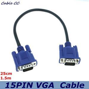 Cable de Vídeo corto VGA D-Sub de 10