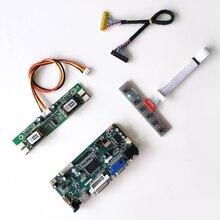 """Para LM220WE1 TLD1/tld2 lcd monitor painel ccfl lvds 30pin 22 """"1680*1050 m. nt68676 placa de unidade controlador de tela hdmi dvi vga kit"""