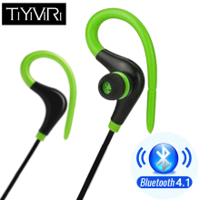 TiYiViRi Bluetooth Wireless Earphones Sweatproof Sport Running Headset Earbuds with Microphone Headphone for Iphone Andorid IOS