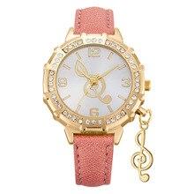 Fashion Women Watch Music Notation Creative Personality Jewelry