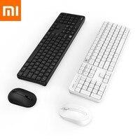 Original Xiaomi Xiomi Miiiw Drahtlose Büro Tastatur Maus Set 104 Tasten 2 4 ghz Multi System Kompatibel Drahtlose Tragbare Tastatur-in Smarte Fernbedienung aus Verbraucherelektronik bei