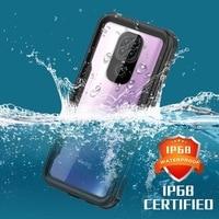 Funda impermeable IP68 para teléfono inteligente Xaiomi Redmi Note 9, carcasa a prueba de golpes para natación, verano al aire libre, para Redmi Note 9 Pro