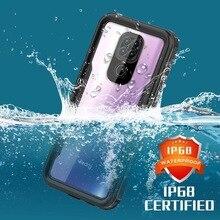 Ip68 à prova dip68 água caso capa para xaiomi redmi nota 9 natação verão ao ar livre à prova de choque caso para redmi nota 9 pro smartphone