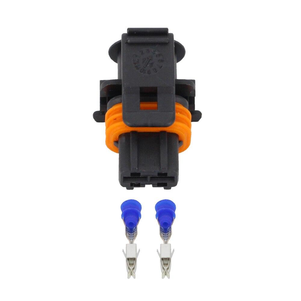 10PCS 2 pin for Bosch Car Series car connector with terminal DJ7026B-3.5-21
