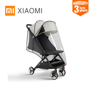 Image 1 - XIAOMI MITU baby stroller accessories weatherproof cover cart special mosquito net baby stroller front armrest U shaped handrail