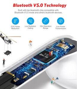 Image 5 - I7s Mini TWS Bluetooth kulaklık spor kablosuz kulaklık kulaklık Stereo mikrofonlu kulaklık şarj kutusu PK i9s Tws tüm telefon için
