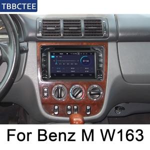 Para Mercedes Benz Classe M W163 1997 ~ 2005 NTG Reprodutor multimídia Carro Android Radio DVD GPS Bluetooth wifi Mapa do Sistema