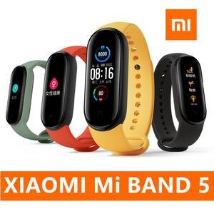 Xiaomi Fitness-Tracker Sport-Bracelet Smart Wristband Amoled-Screen Bluetooth Original