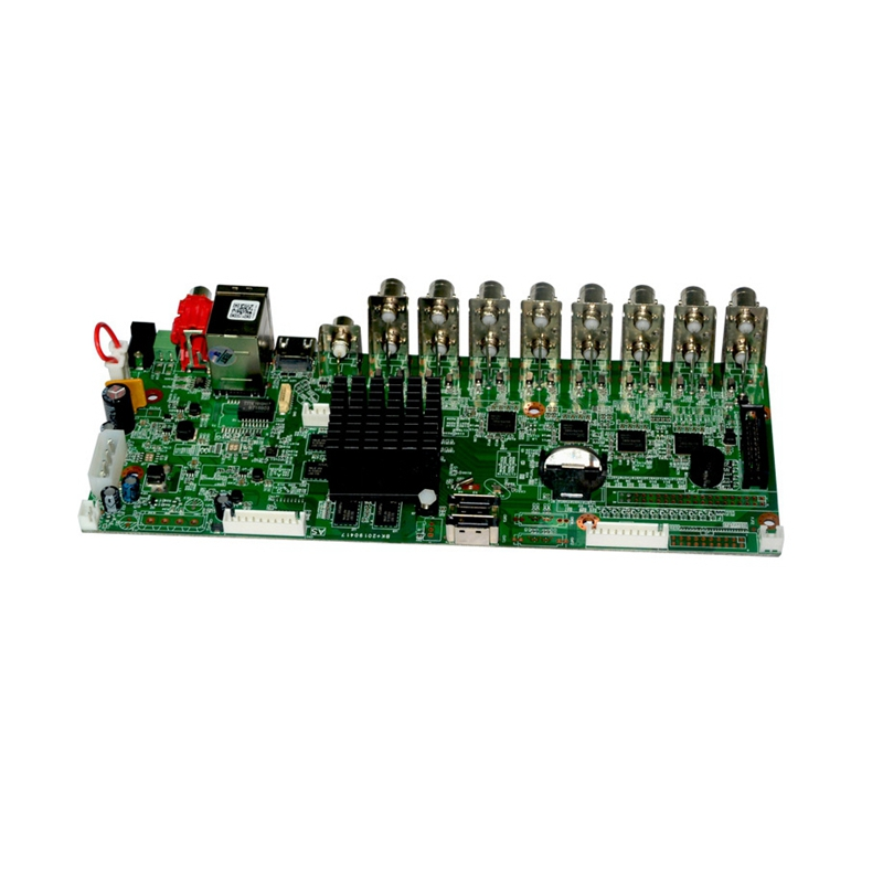 H.265 16Ch Hybrid DVR Board CCTV 5MP Security DVR NVR Recorder Camera Onvif Coxial Control P2P XVI/AHD/TVI/CVI/CVBS/IP