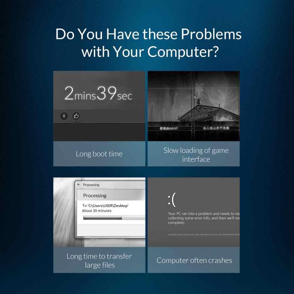 Orico m.2 sata ssd 128 gb 256 gb 512 gb 1 tb m2 ngff ssd m.2 2280 mm disco rígido de estado sólido interno para desktop portátil