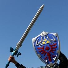 1:1, косплей, меч и щит, меч из искусственной кожи, детский подарок для ролевых игр, подарок 80 см, меч