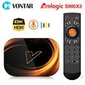 ТВ-приставка VONTAR X3, Android 9, 4 + 2020 ГБ, 8K, Amlogic S905X3, Wi-Fi, 128 P, 4K, Youtube, Android 1080