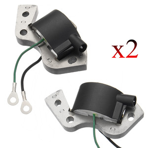2PCS New Ignition Coil Module Outboard Motor Ignition Coil For Johnson Evinrude Replacement Plastic&Metal 584477 0584477 582995(China)