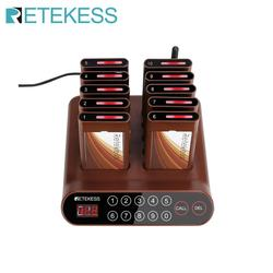 Retekess T116A  Restaurant pager waiter calling system Wireless Guest Paging Queuing System  for restaurant  coffee shop