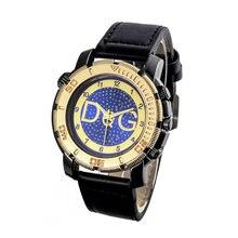 Часы наручные мужские кварцевые с кожаным ремешком 2020