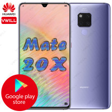 7.2 pouces d'origine Huawei Mate 20 X téléphone portable Mate 20x Kirin 980 Octa Core Andorid 9.0 QuickCharger 5000mAh IP53(China)