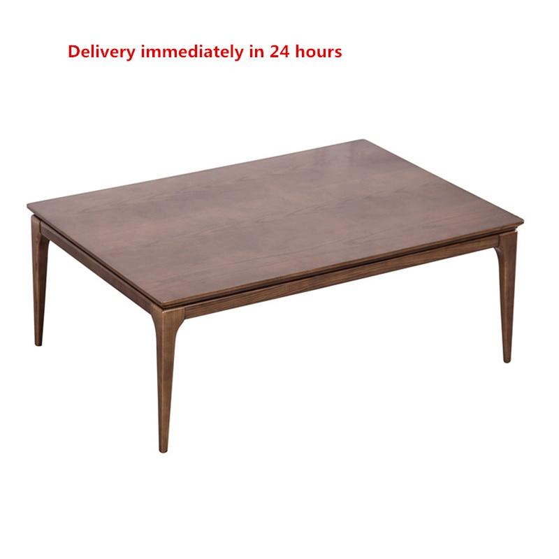2019 New Kotatsu Table Nordic Design Solid Oak Wood Japanese Furniture For Living Room Casual Heated Center Tea  Tatami Table