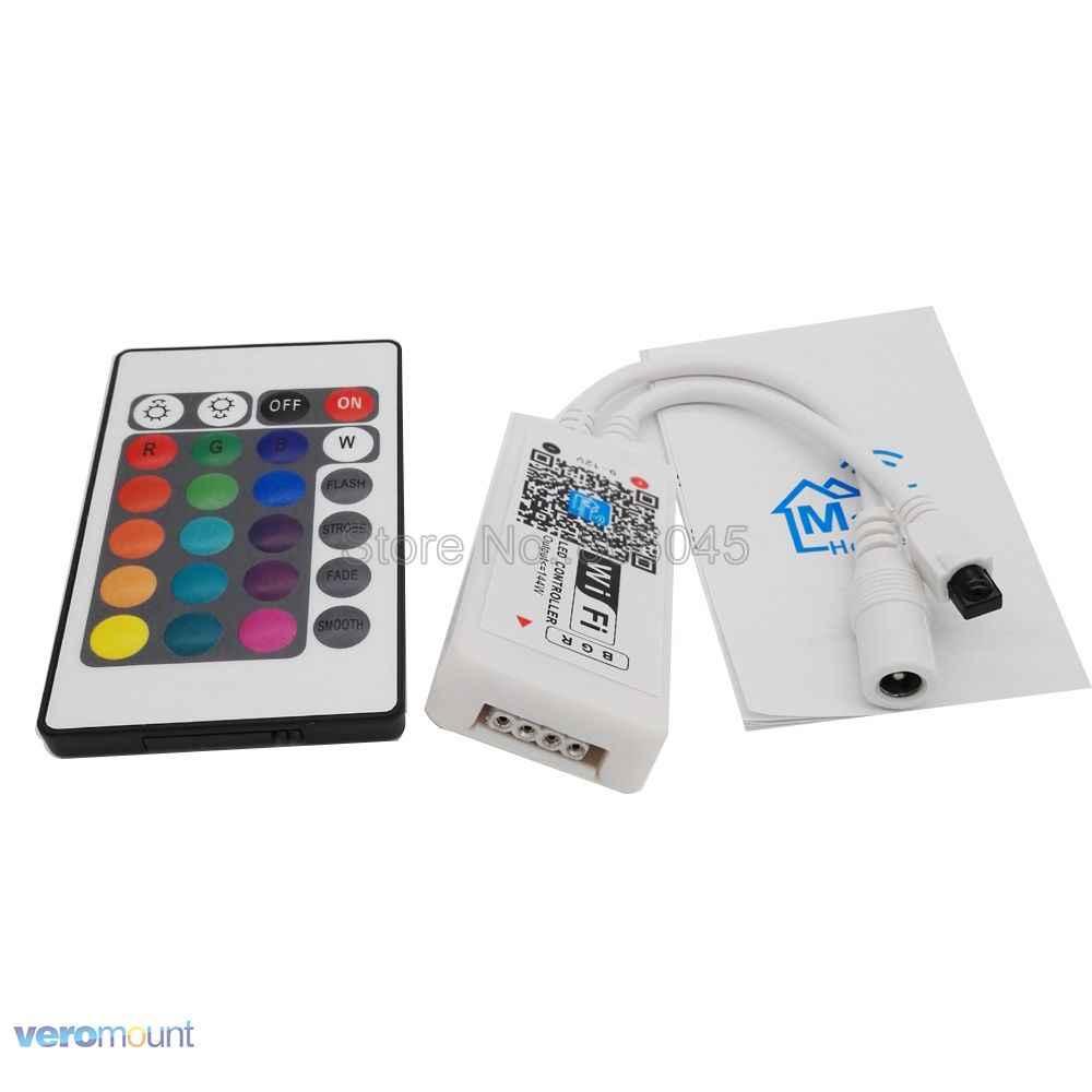 קסם בית Bluetooth Wifi RGB RGBW LED רצועת בקר Smartphone APP בקרת RF/IR מרחוק Alexa Google קול שליטה DC12V