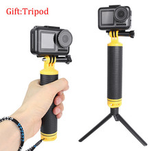 Waterproof Floating Hand Grip Monopod With Tripod for GoPro Hero 8 7 6 5 Yi 4K SJCAM EKEN Dji Osmo Action Camera Accessories Set