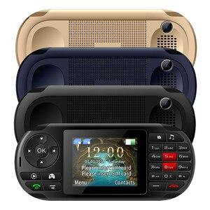 "Image 4 - UNIWA GP001 Spiel Und Telefon 2 In 1 Gaming Handy Lange Standby 2500 mAh 2,8 ""SC6531E Lautsprecher tastatur dual SIM Dual Stanby"