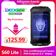DOOGEE S60 LITE 4GB 32GB Rugged-Phone 4gbb NFC Adaptive Fast Charge Wireless Charging