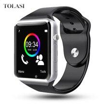 A1 WristWatch Bluetooth Smart Watch Sport Bracelet Pedometer SIM TF Camera Fitnesse Tracker For HUAWEI Xiaomi VS DT09 Q15 Reloj