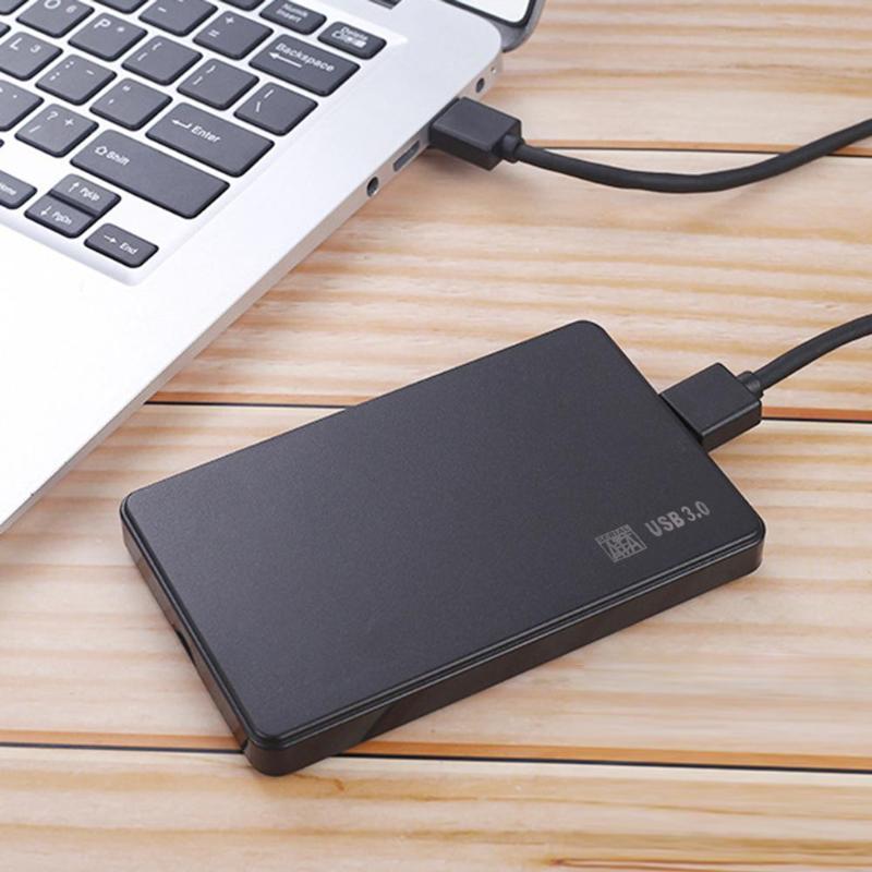 2.5 pouces HDD boîtier SSD 5 Gbps Sata vers USB 3.0 2.0 adaptateur prise en charge 2 to boîtier de disque dur externe boîtier de disque dur pour WIndows Mac 1