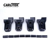 for Jeep Wrangler JK Unlimited Sahara Rubicon Black ABS Door Hinge Cover Trim