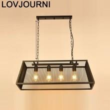 Verlichting Light Lampara Lustre E Pendente Para Sala De Jantar Industriele Hanging Lamp Loft Luminaire Suspendu Hanglamp