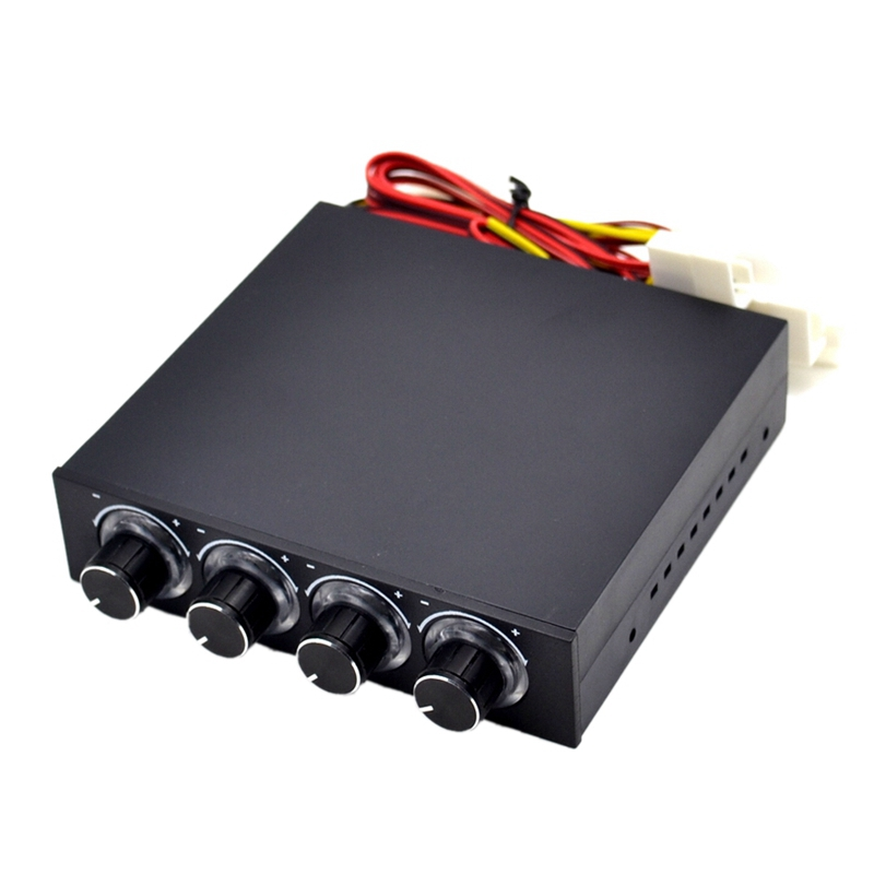 STW-6002 4 Channel Speed Fan Controller With LED GDT Controller And CPU HDD VGA