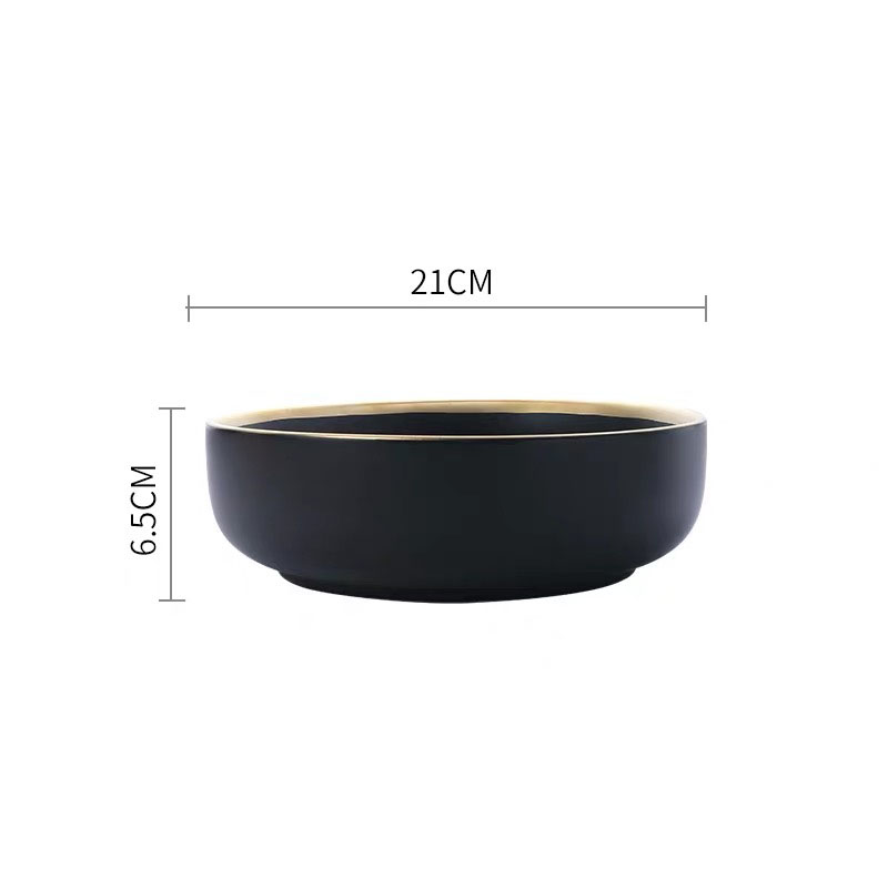 8 inch black
