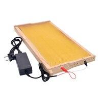 Embedder eléctrico de apicultura, dispositivo de calefacción, marco de alambre, 110-240V, equipo instalador de colmena