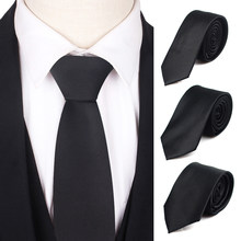 Gravatas magras dos homens do laço para o casamento do negócio laços magros masculinos