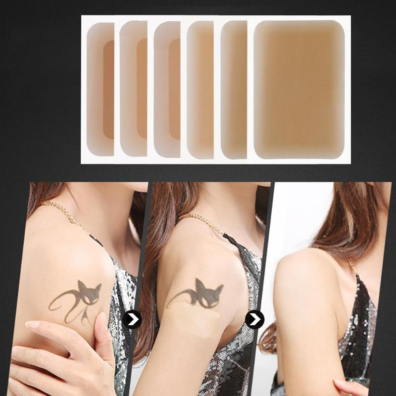 Waterproof Tattoo Stickers Tattoo&Flaw Concealing Stickers Tattoo&Flaw ConcealingTape Free To Cut Smudge And Waterproof