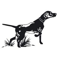 CK2944# наклейки на авто Pointer Hunting Dog водонепроницаемые наклейки на машину наклейка для авто автонаклейка стикер этикеты винила наклейки стайли...