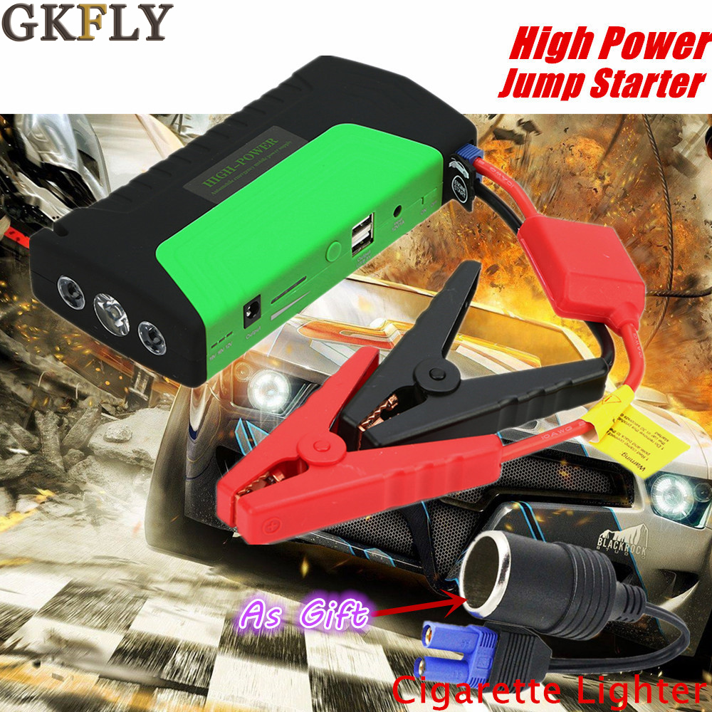 Mini Emergency Starting Device 12V 600A Portable Car Jump Starter Power Bank Quick Starting Car Charger For Car Barttery Booster