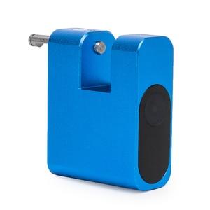 Image 4 - DAYTECH Smart Fingerabdruck schloss Türschloss Sicherheit Locker USB Aufladbare IP65 Wasserdichte Gepäck Fall Lock Anti Dieb