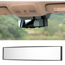 Car Truck Wide Curve Anti-Glare Clip On Rearview Mirror Universal 270/300mm higher resolution