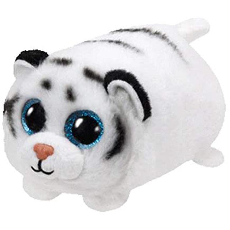 Ty Zack The White Tiger Plush Toys Animal 4 Inch