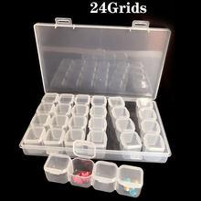 Коробка для хранения бусин 28 сеток + отдельный чехол органайзер