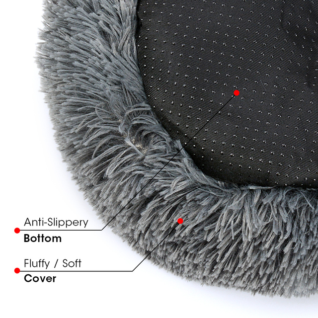 Comfortable Touch Fluffy Bed Your Pups & Kittens Will Love  4