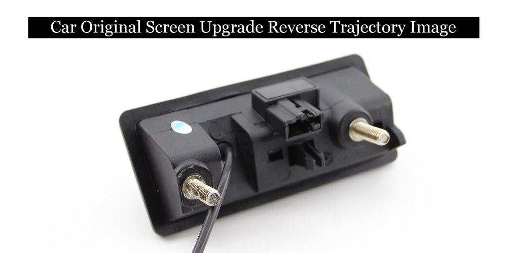 Автомобильный экран обновление заднего изображения динамическая траектория парковки Задняя камера ручка багажника для Audi A4 A4L 2012 2013