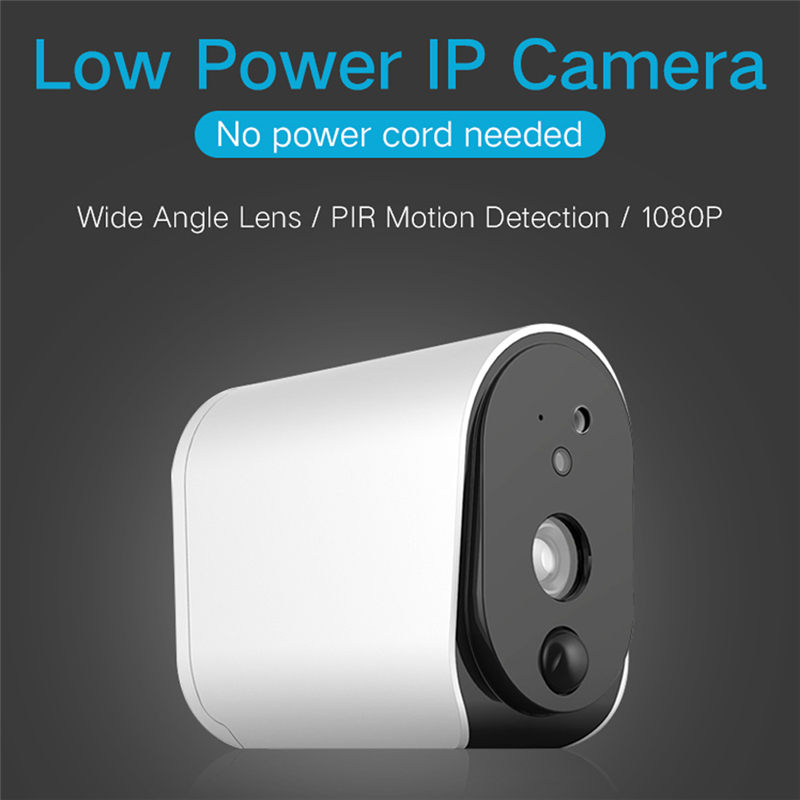 HD 1080P Wireless IP Battery Camera IP55 Waterproof PIR Detection Infrared Night Version 110° Home WIFI Camera Baby Monitors in Baby Sleeping Monitors from Mother Kids