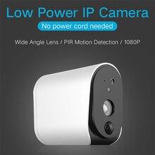 HD 1080P Wireless IP Battery Camera IP55 Waterproof PIR Detection Infrared Night Version 110° Home WIFI Baby Monitors