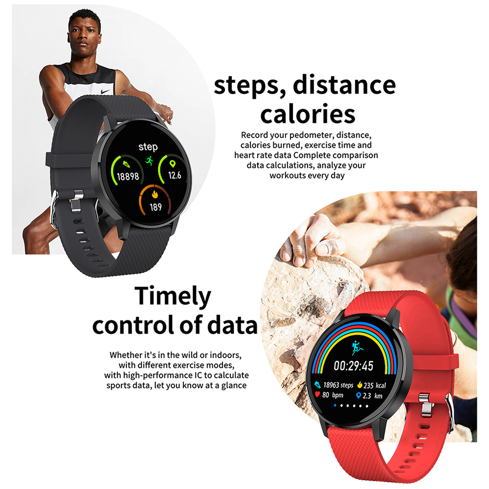 COLMI Smart Watch T4 Bracelet Heart Rate Blood Pressure Monitor Call Reminder Fitness Tracker Waterproof Smart Watch Android IOS