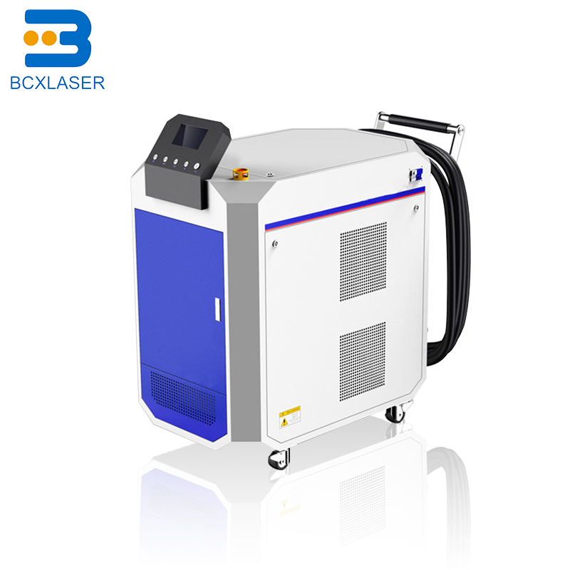 High Efficiency 30W 50W 100W Backpack Portable Fiber Laser Cleaning Machine For Metal Paint/oil/rust Removal