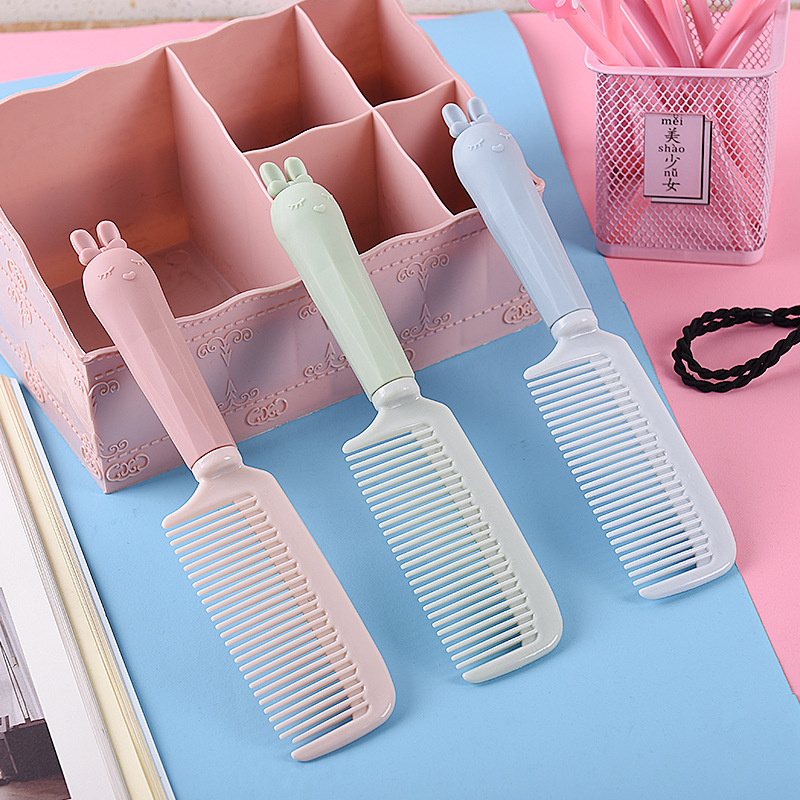 Children Hair Combs Toddler Baby Hair Care Product Cartoon Portable Massager Combs Hairbrush Care Kit Kid Anti-static Hair Brush