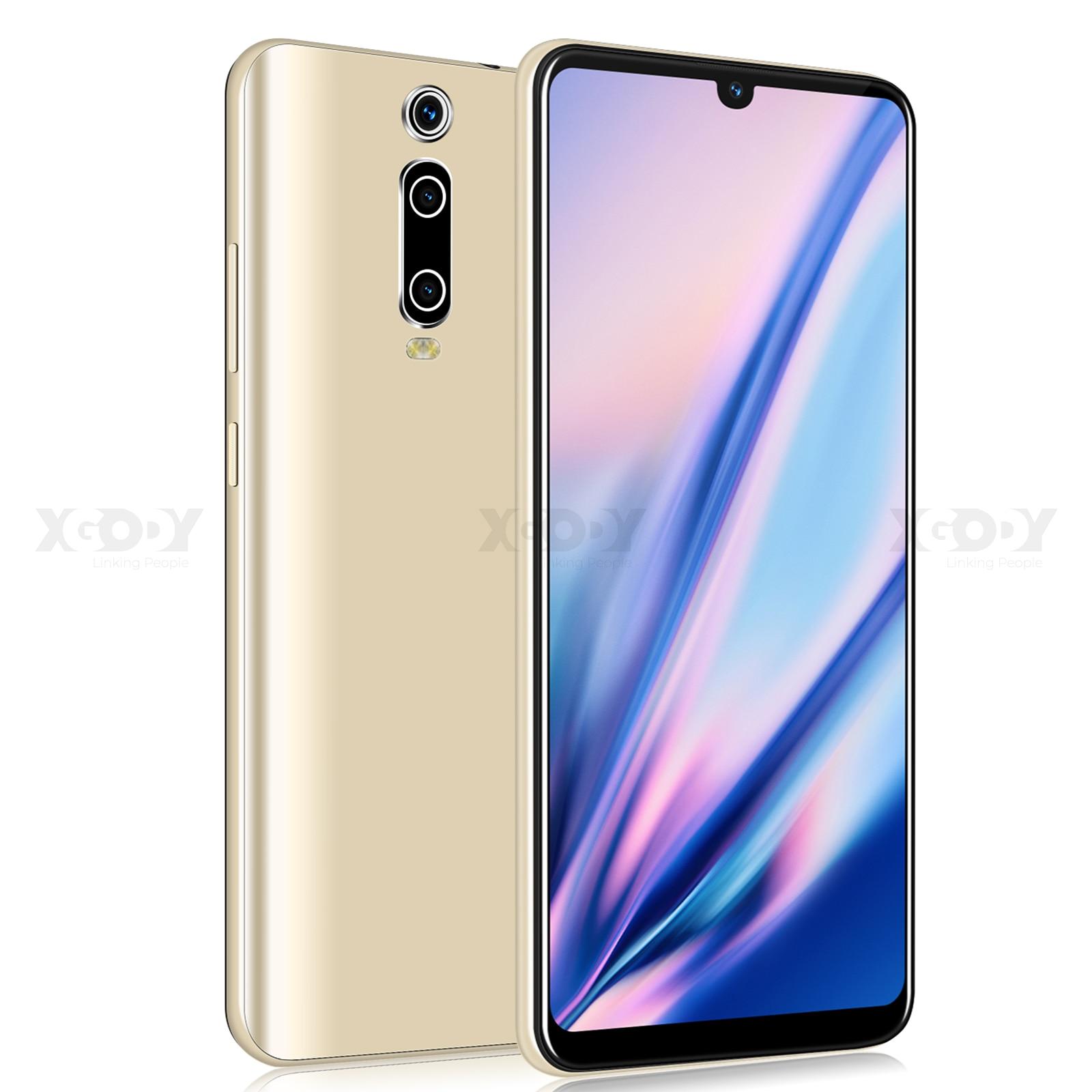 XGODY 3G Mobile Phone 9T 1GB 4GB 6 26 QHD Screen MTK6580 Quad Core Android 9 XGODY 3G Mobile Phone 9T 1GB 4GB 6.26'' QHD Screen MTK6580 Quad Core Android 9.0 Waterdrop Full Screen 2800mAh Smartphone