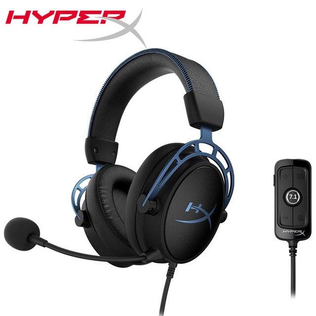 קינגסטון HyperX ענן אלפא S ענן E ספורט אוזניות עם מיקרופון למשחקי מחשב אוזניות